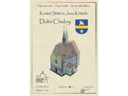 Dolní Chabry - kostel Stětí sv. Jana Křtitele