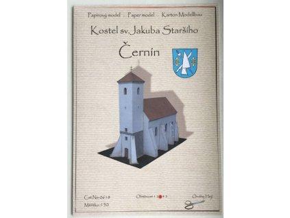 Černín - kostel sv. Jakuba Staršího