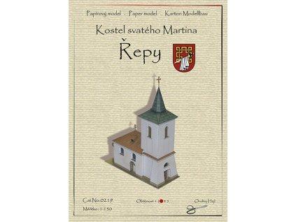 Řepy - kostel sv. Martina