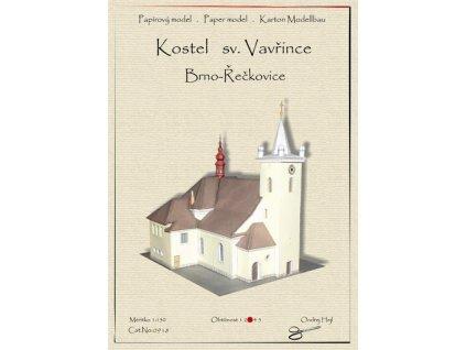 Brno Řečkovice - kostel sv. Vavřince