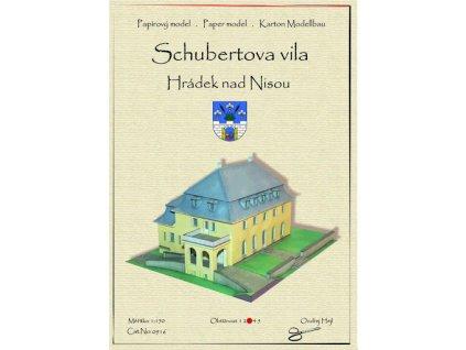 Hrádek nad Nisou - Schubertova vila