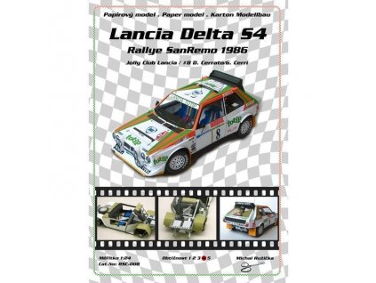 Lancia Delta S4 - San Remo 1986 (č.8)