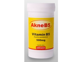 AkneB5 vitamin B5 500mg 250 tablet