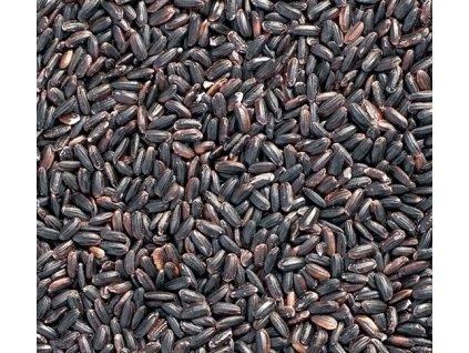 černá rýže nahled