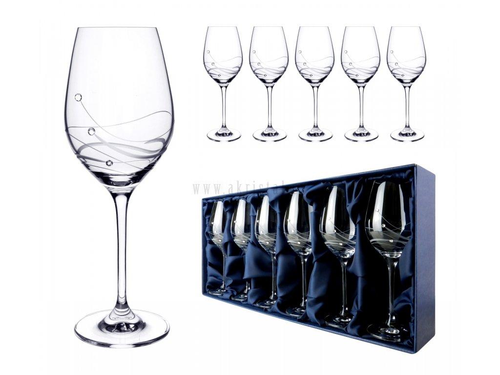 skleničky na víno se swarovski classic 360 titulka 1