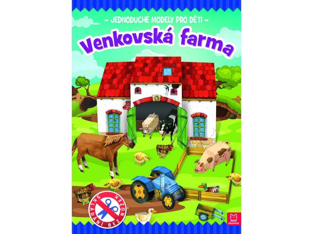 Jednoduché modely pro děti Venkovská farma