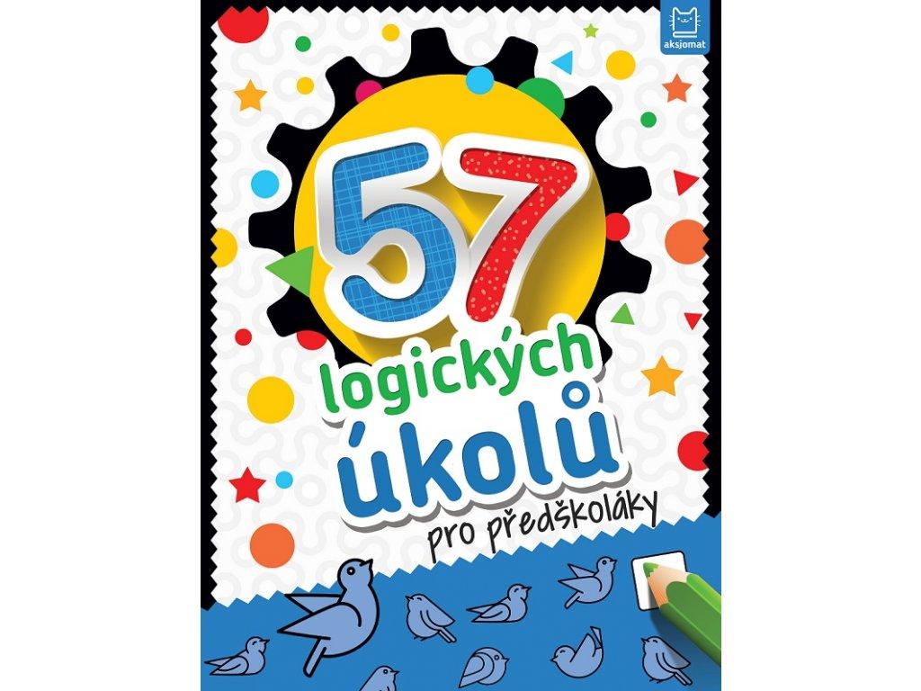 57 logických úkolů pro předškoláky obálka