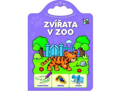 6054 CZ Dzieciaki poznają zwierzęta. Zwierzęta w zoo