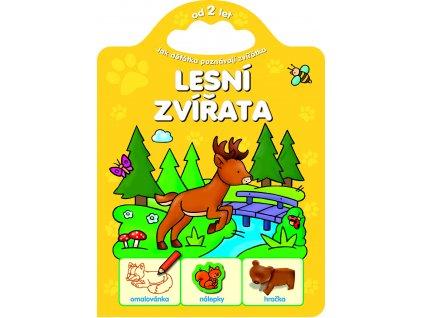 6055 CZ Dzieciaki poznają zwierzaki. Zwierzęta leśne