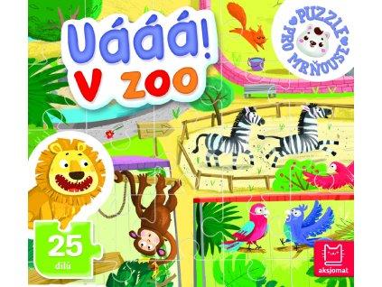 Puzzle Uááá! V zoo