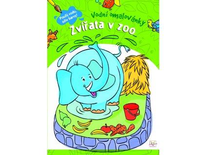 Vodní omalovánky Zvířata v zoo