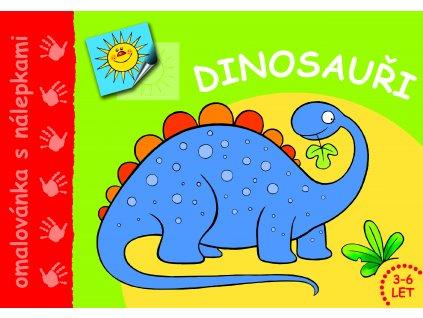 Omalovánka Dinosauři