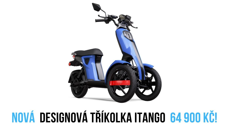 Designová tříkolka ITANGO