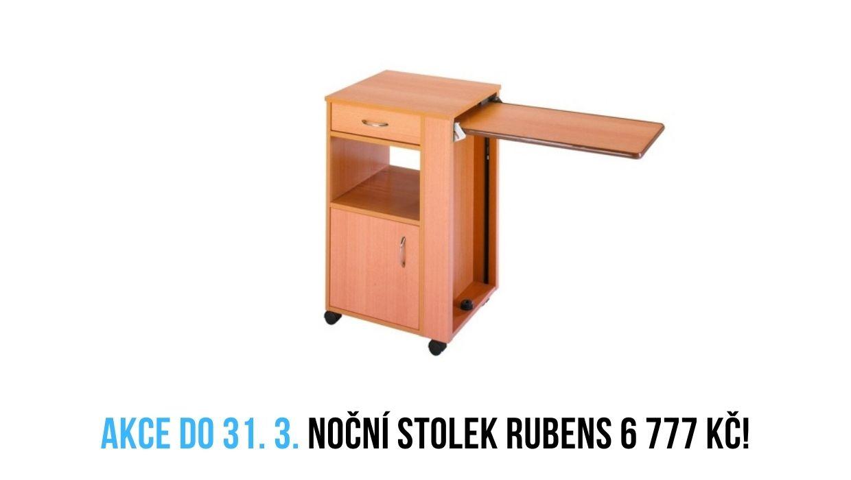 Noční stolek Rubens 1 akce