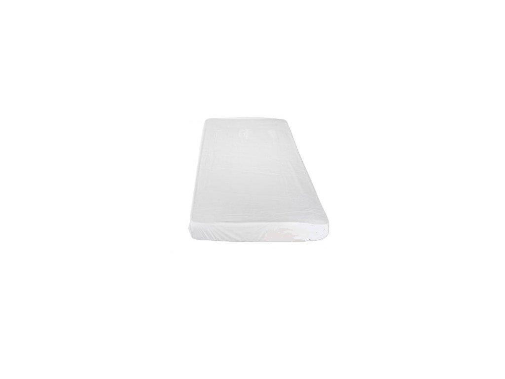 Nepropustné Froté prostěradlo s PU bílé 90 x 200 cm
