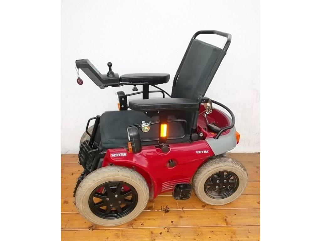 Invalidní vozík elektrický Meyra Optimus 1 repasovaný
