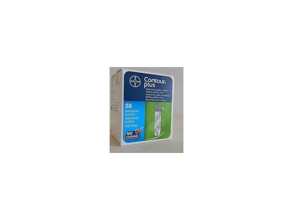 Testovací proužky pro glukometr CONTOUR™PLUS 50 ks