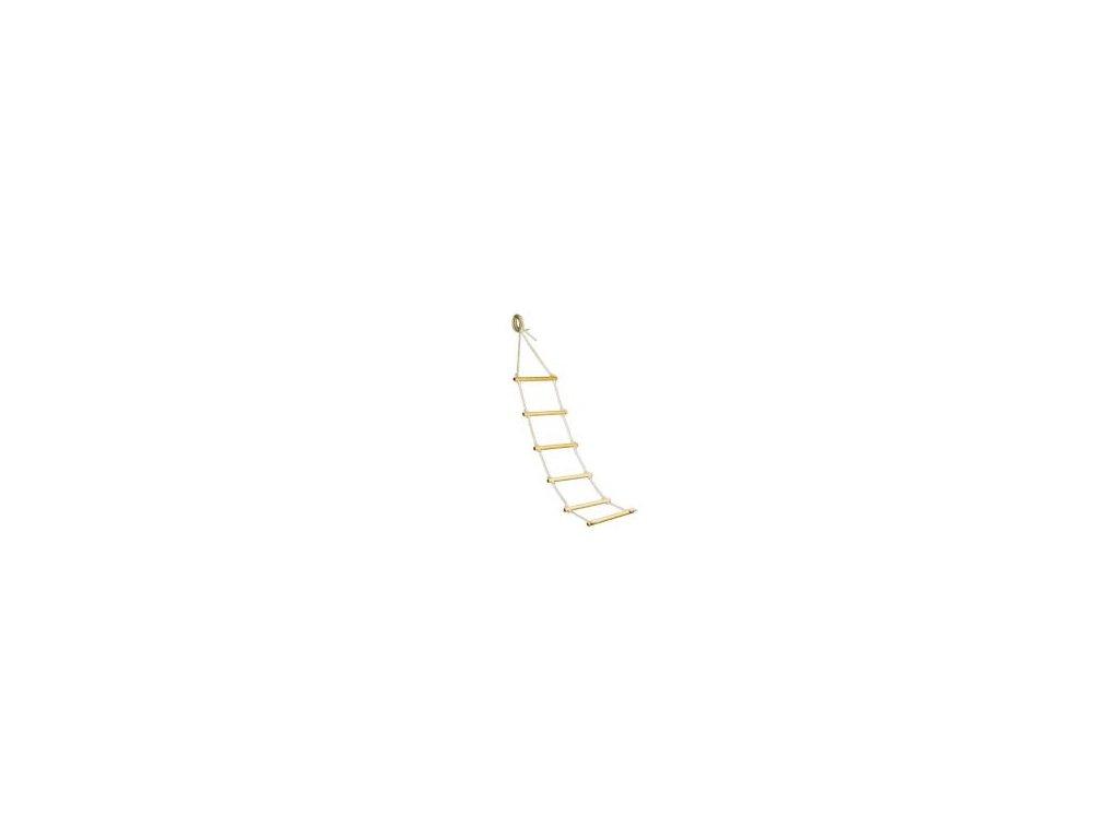 Žebříček k lůžku klasik 160 cm