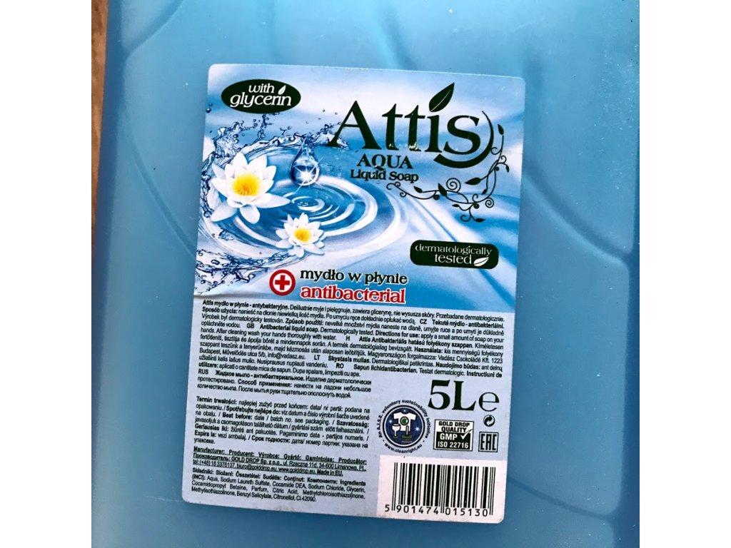 Antibakteriální mýdlo 5 l