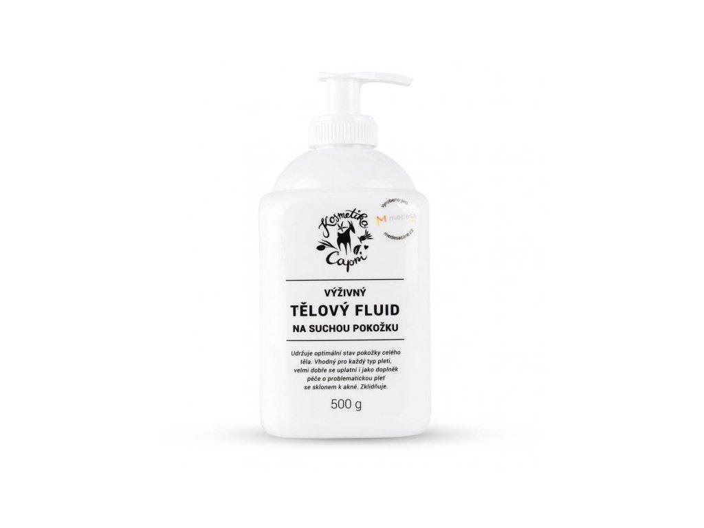 Tělový fluid na suchou pokožku 500 g