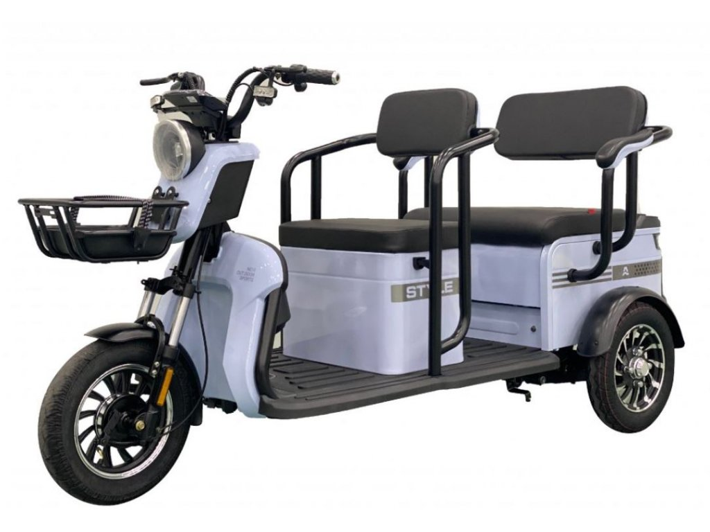 Elektrická tříkolka CARGO 08
