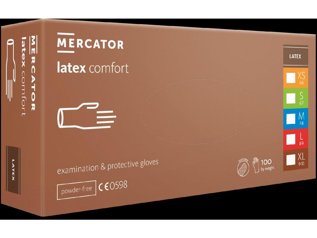 Rukavice MERCATOR® latex comfort