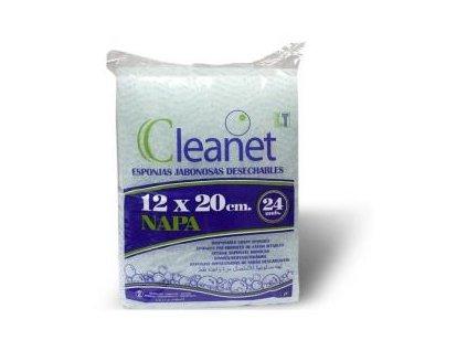 cleanet mydlove myci houbicky 24 ks 0