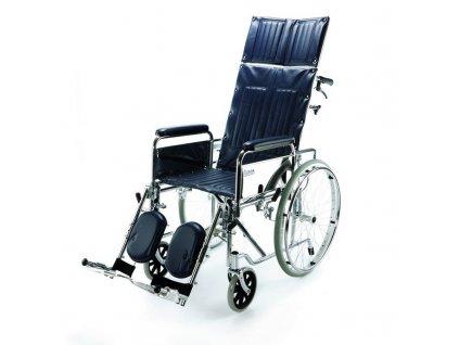 Mechanický invalidní vozík polohovací