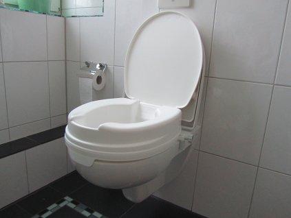 """Nástavec na WC """"RELAXON BASIC"""", 10 cm, s víkem"""