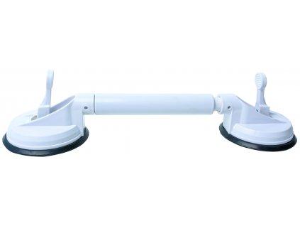 Teleskopické madlo s přísavkami