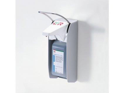 Dávkovač L+R dispenser green s krátkou páčkou