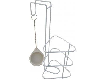 Držák nádoby na moč trojhranný