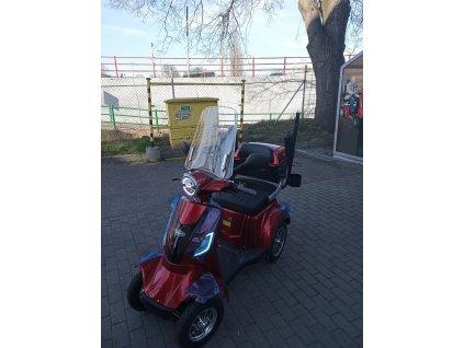 Větrný štít/ čelní sklo pro vozíky SELVO 3500, 31000 a 41000