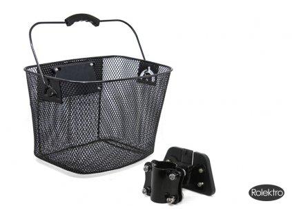 Košík ke skútru přední s rychloupínáním