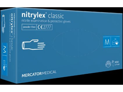 Rukavice Nitrylex® classic blue