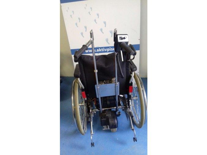 Mechanický vozík s přídavným pohonem MEYRA