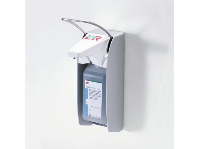 Dávkovač L+R dispenser blue s krátkou páčkou