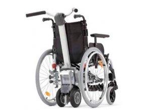 Přídavný elektrický pohon k mechanickému vozíku Viamobil Alber