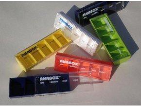 Dávkovač na léky ANABOX® Denní Box