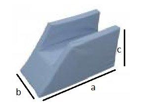 Opěrka končetiny - Korýtko - pro jednu nohu