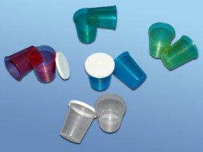 kelímky na léky kalibrované