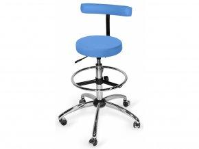 Židle lékařská CROMO LUX