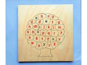 Písmenkový strom tiskací