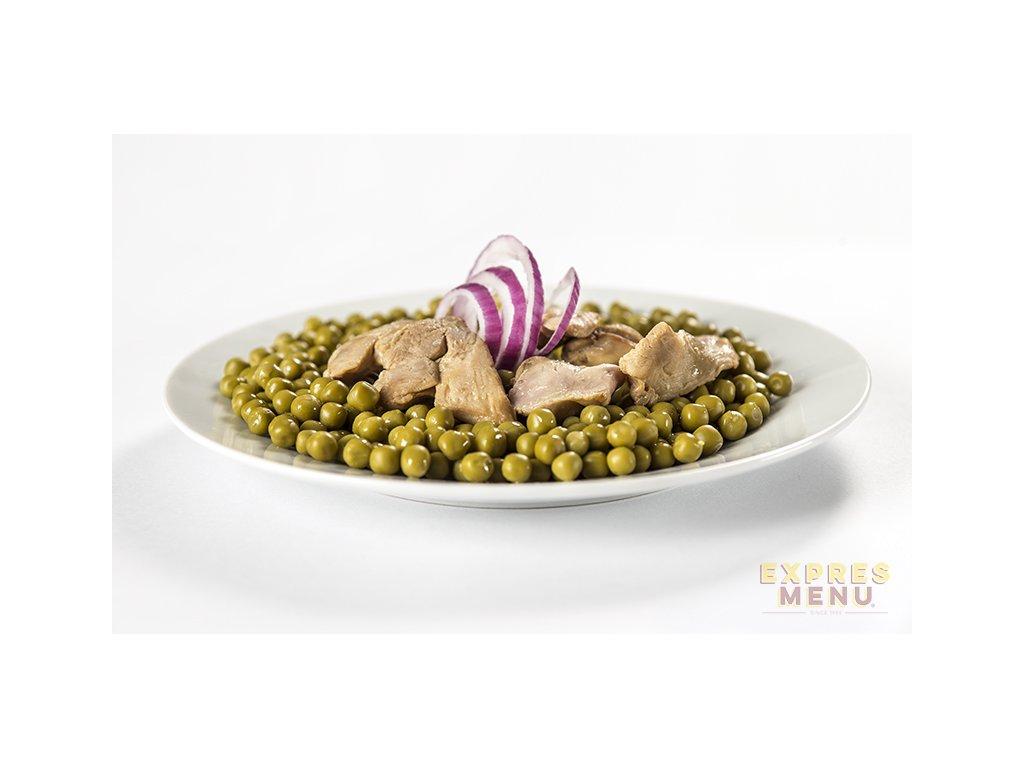 3408 expres menu zeleny hrasek s kurecim masem 300g