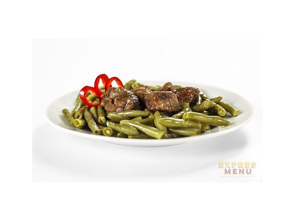 3414 expres menu zelene fazolky s hovezim masem 300g