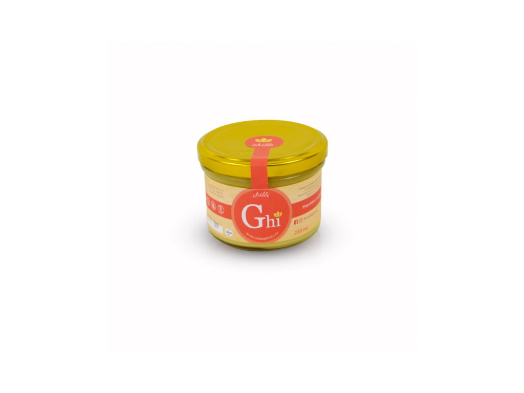 3456 ceske ghicko ghi s chilli 220 ml