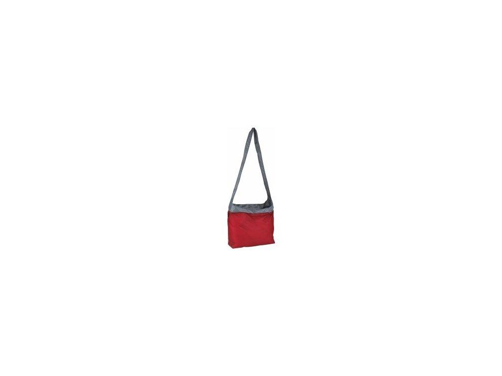 3081 taska pres rameno ultrasil sling bag cervena