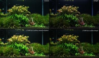 Porovnanie LED vs. T5 osvetlenia