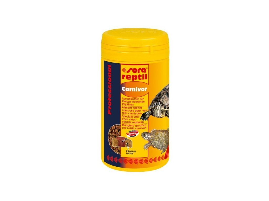 sera reptil  Professional Carnivor 3,8l