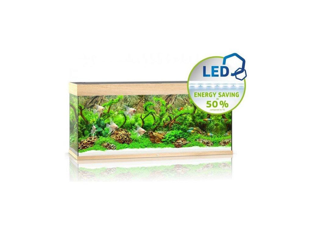 Juwel Rio 240 LED akvárium , 240l svetlá hnedá